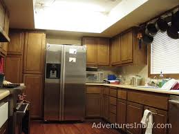 Vintage Metal Kitchen Cabinet Enamel Painted Home by Painting Kitchen Cabinets U2013 Day 1 U2013 Adventures In Diy