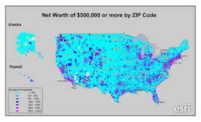 Us Zip Code Map by Where Do The Wealthy Americans Live U2013 Pam Allison