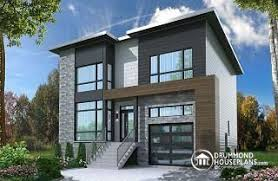 modern 2 story house plans 2 story house plans w garage from drummondhouseplans