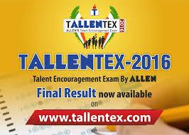 tallentex 2016 result allen news scoop it