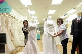 wedding dresses newcastle sale of designer wedding dresses at newcastle charity shop prices
