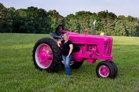 1956 farmall 400 u2013 think pink u2013 antique tractor blog