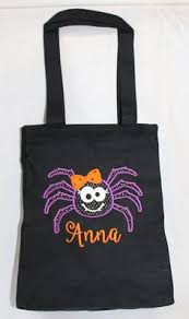 trick or treat bag easy to make not to scary for kids projects