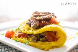 steak omelette sundaysupper from gate to plate