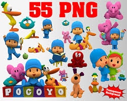 pocoyo party etsy