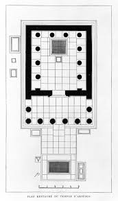 file reconstruction of plan of temple of artemis at epidaurus