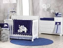 Baby Nursery Bedding Koala Baby First Love 4 Piece Crib Bedding Set Elephant Navy