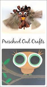 book inspired preschool owl craft