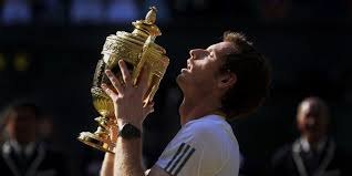 10 years of andy murray at wimbledon in pictures triumph tears