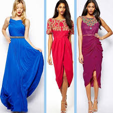 party dresses 13 jewel tone colors for year round style