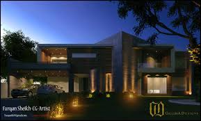 Home Design Architecture Pakistan by Contemporary Residence By Galleria Designs U2013 2 Kanal House