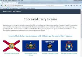 warning website offering fake concealed carry permits range365