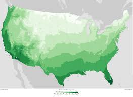 Interactive Map Of Usa by Planting An Earth Day Garden Consider Climate U0027s U0027new Normal