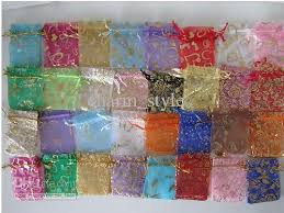 large organza bags organza wedding party favour bags large 17x23cm china products