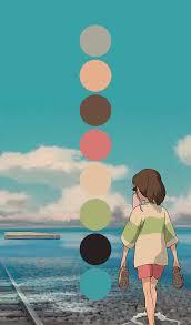 art hayao miyazaki spirited away design inspiration color chihiro