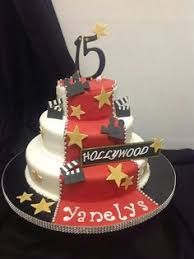 hollywood theme cakes cupcakes sweets and treats pinterest