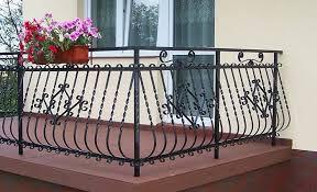 balcony wrought iron railing balcony railing design for both