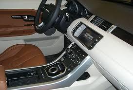 Evoque Interior Photos 2012 Range Rover Evoque Preview At Bergstrom Premier Roverguide