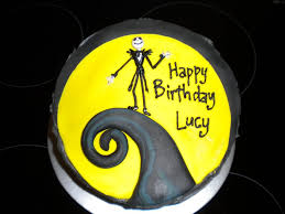 the nightmare before christmas cake easy nightmare before