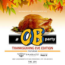 thanksgiving at the roc sf tickets wed nov 22 2017 at 10 00