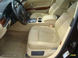 volkswagen phaeton interior sonnen beige interior 2004 volkswagen phaeton v8 4motion sedan