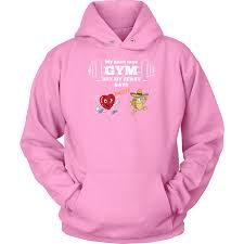 taco mexian my head say gyms but my heart says taco unisex hoodie