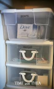 my very organized linen closet shelf time with thea