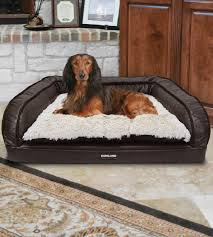 costco pet beds this kirkland signature pet bed features a foam filled base that