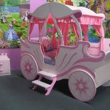 Princess Area Rug Bedroom Gorgeous Kids Bedroom Decor With Princess Carriage Bed