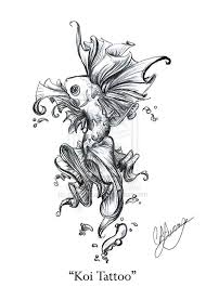 best butterfly koi fish design tattooshunter com