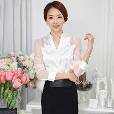 womens silk blouses satin silk blouse button silk satin blouses shirt
