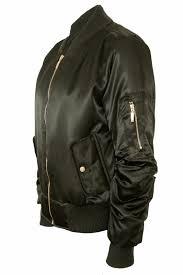 retro motorcycle jacket women ladies satin ma1 bomber jacket vintage summer coat flight
