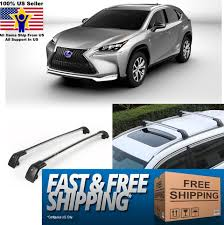 Car Roof Box Ebay by Top Roof Rack For Lexus Nx200 2015 2016 2017 Baggage Luggage Cross