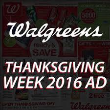 walgreens thanksgiving 2016 sale ad blackfriday