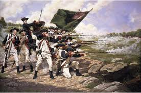 Famous Picture Of Soldiers Putting Up Flag Battle Of Long Island Wikipedia