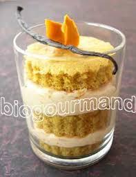 curcuma en cuisine verrine de mangue et génoise sans gluten au curcuma cuisine