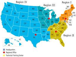 maps united states map regions