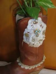 Cowboy Boot Planter by Single Cowboy Boot Planter Show Off Your Cowgirl Or Cowboy With