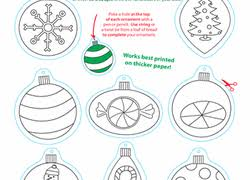 preschool christmas worksheets u0026 free printables education com