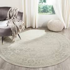 Round Table Kerman Sage Round Oval U0026 Square Area Rugs Shop The Best Deals For Nov