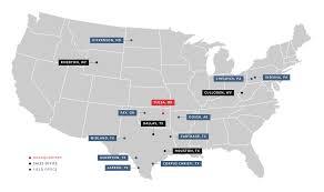 Dallas Tx Map Locations Elynx Technologies Elynx Technologies