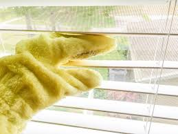 easiest way to clean blinds e cloth dusting glove get green be well