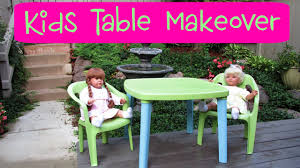 garbage to gorgeous episode 14 kids table and chair makeover