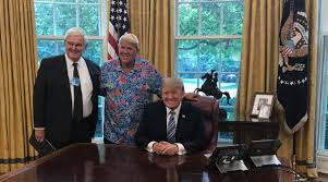 Oval Office Trump by John Daly Visits President Trump In White House Golf Com
