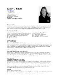 Sample Resume Format Mca Freshers by Resume For Cabin Crew Fresher Free Resume Example And Writing