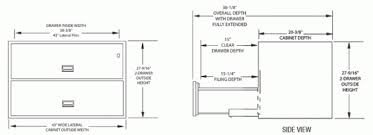 Lateral File Cabinet Dimensions Lateral Filing Cabinet Dimensions Mf Cabinets Regarding Standard