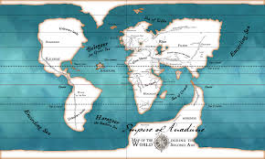 Map Showing Equator Some More Horrible Maps Of Arda Tolkienfans