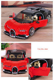 car bugatti 1 15 scale dream car bugatti veyron red super sport cars moc