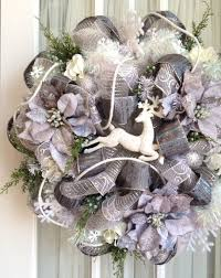 104 best deco mesh images on winter wreaths