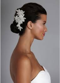rhinestone hair floral inspired rhinestone hair clip with david s bridal